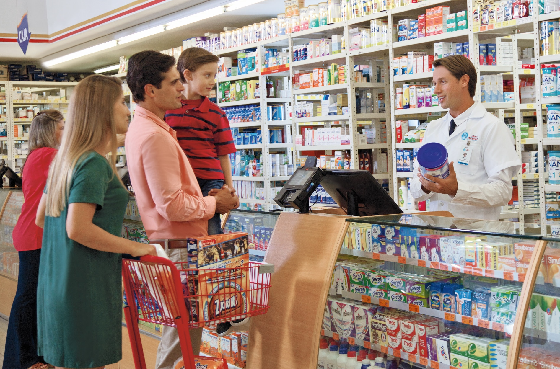 Concepto de Superfarmacia