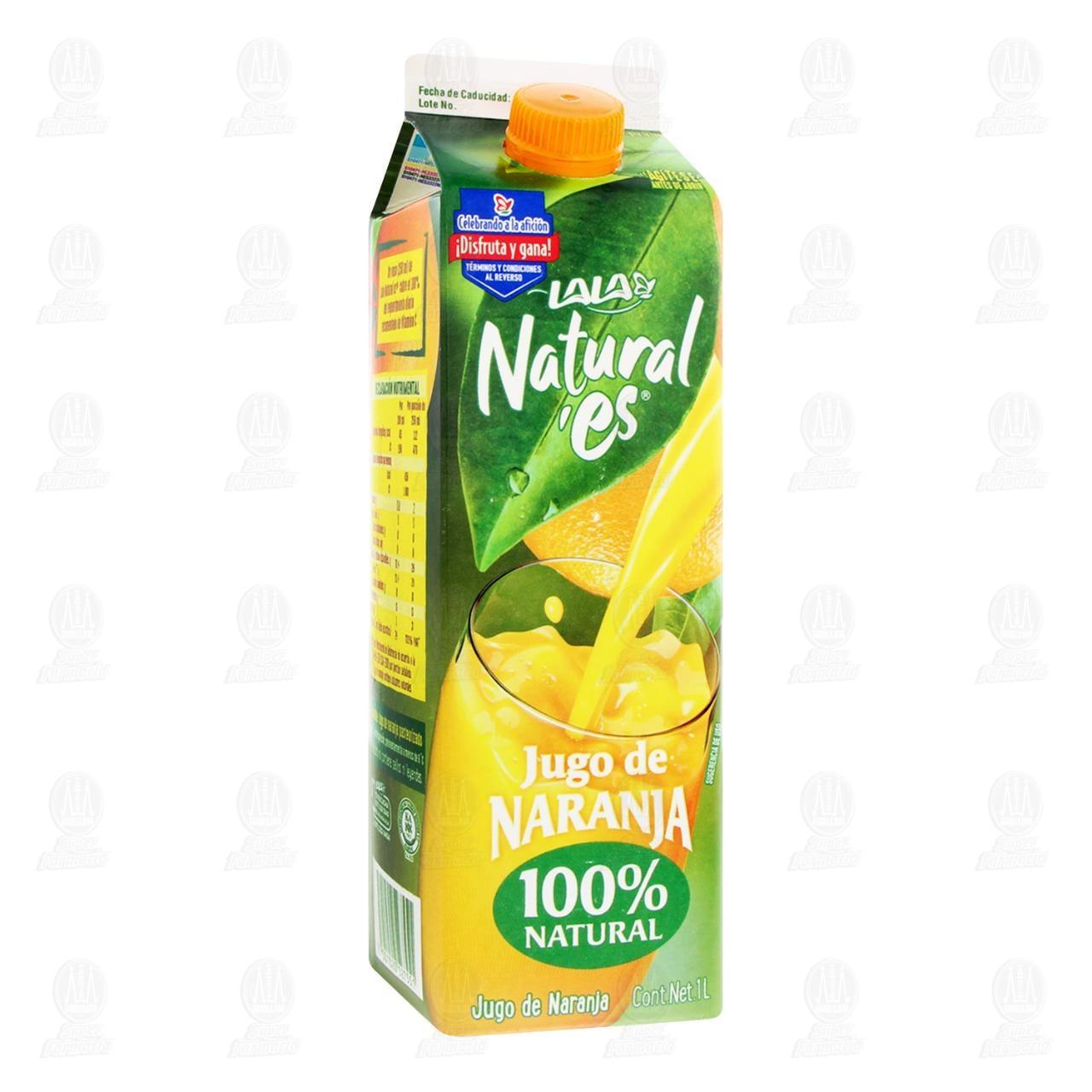 Jugo Natural'es Lala de Naranja, 1 l.