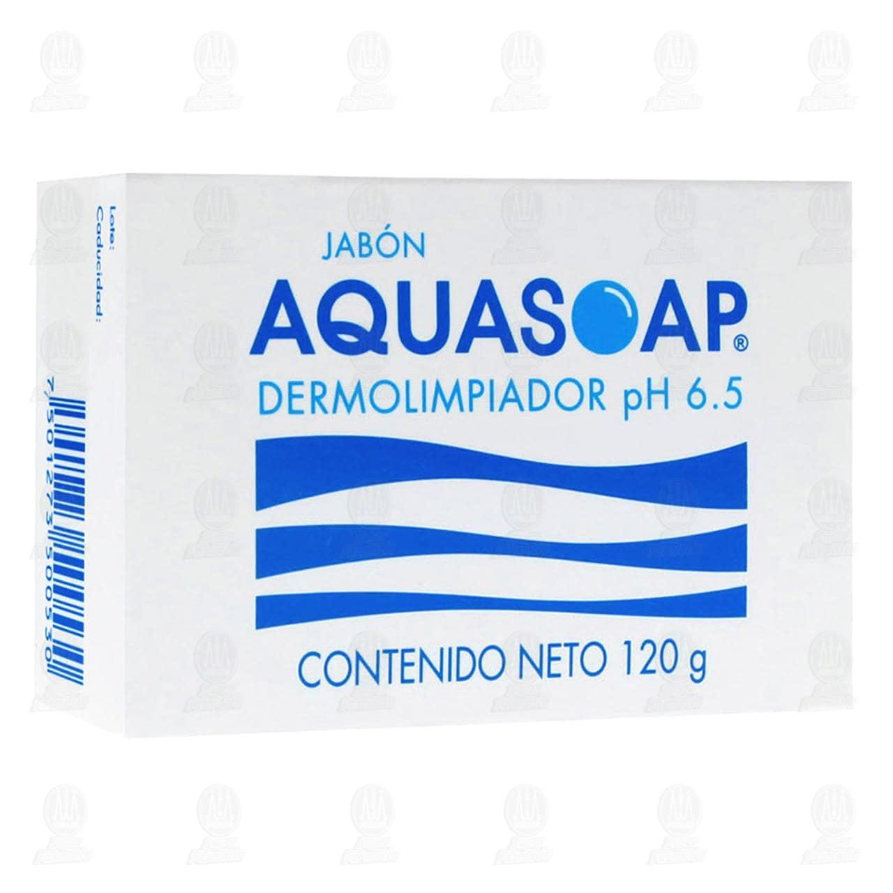 Comprar Aqua Soap PH 6.5 120gr Barra Dermolimpiador en Farmacias Guadalajara