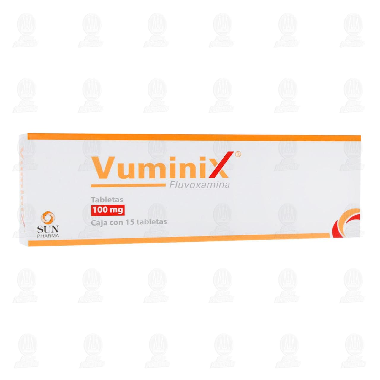 Comprar Vuminix 100mg 15 Tabletas en Farmacias Guadalajara