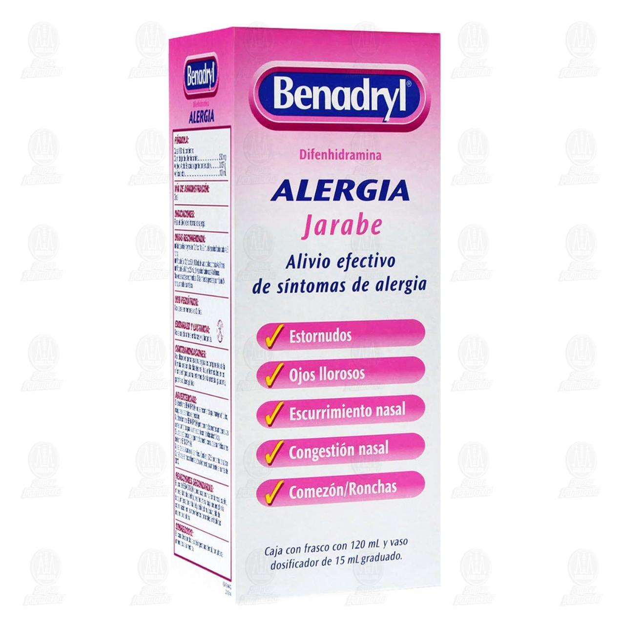 Comprar Benadryl Jarabe 120ml en Farmacias Guadalajara