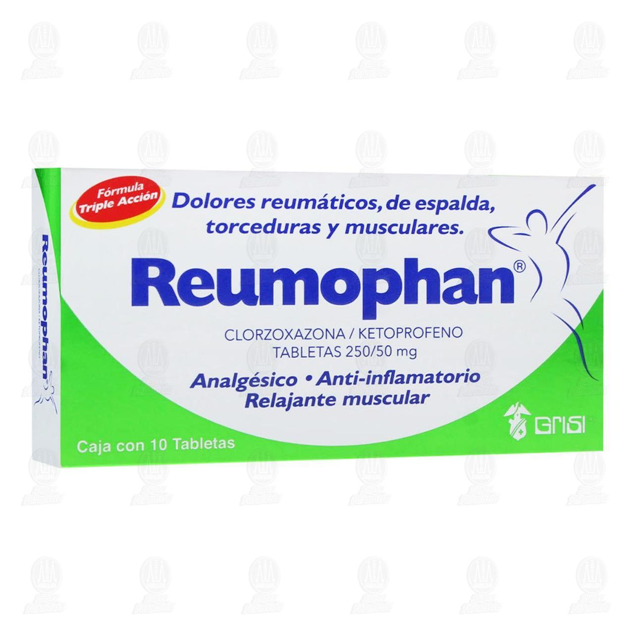 Comprar Reumophan 10 Tabletas en Farmacias Guadalajara