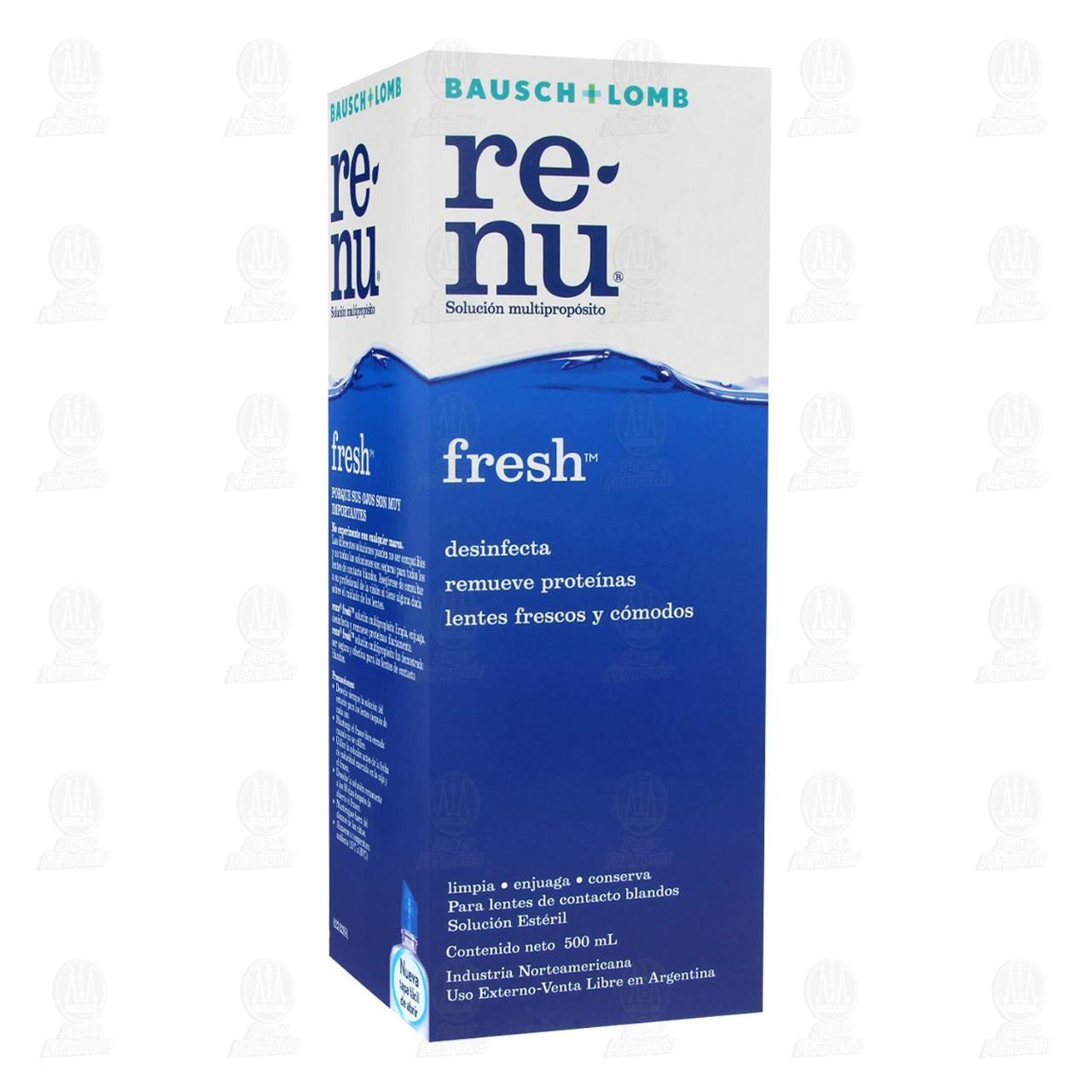 Comprar Renu Fresh 500ml Solución en Farmacias Guadalajara