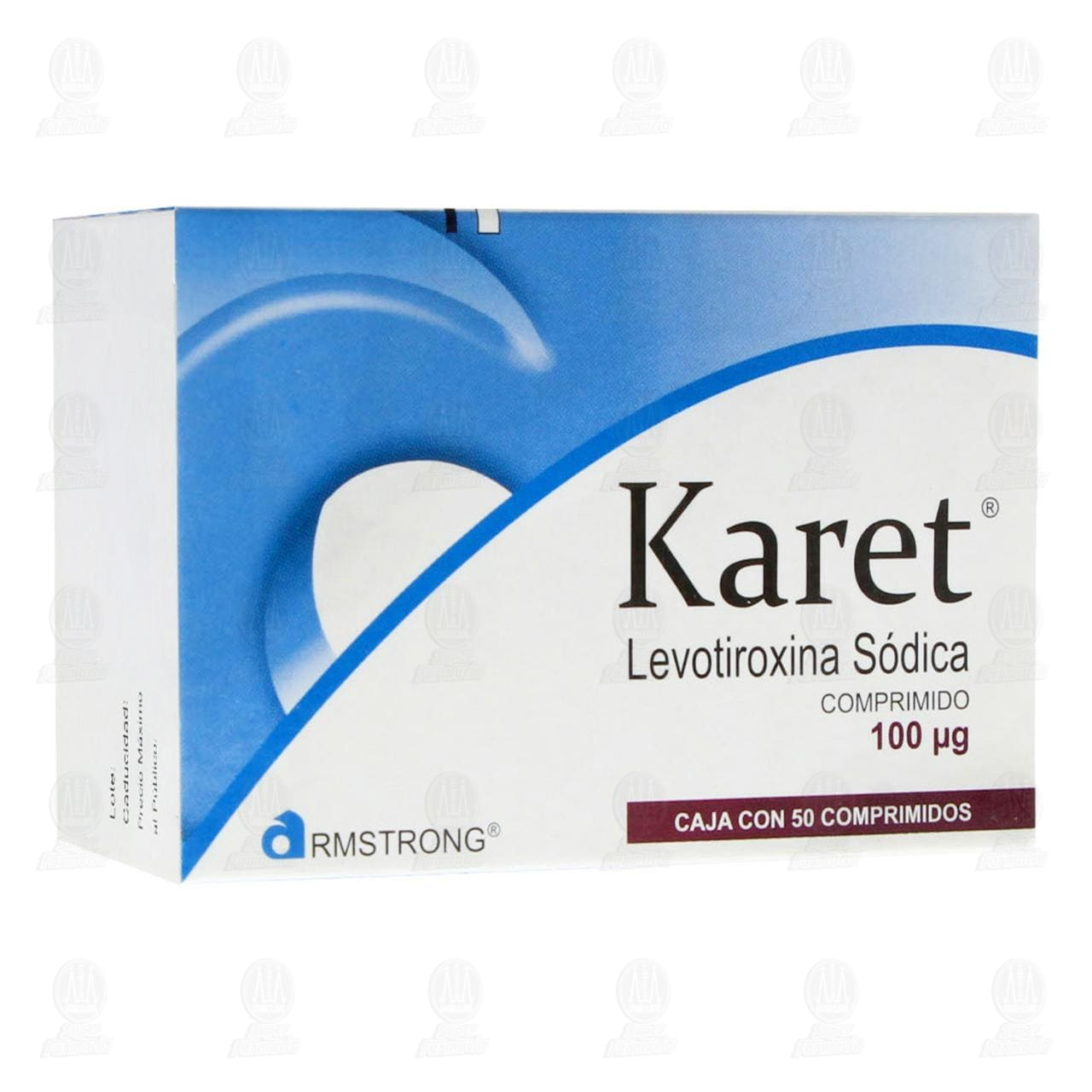 Comprar Karet 100mg 50 Comprimidos en Farmacias Guadalajara