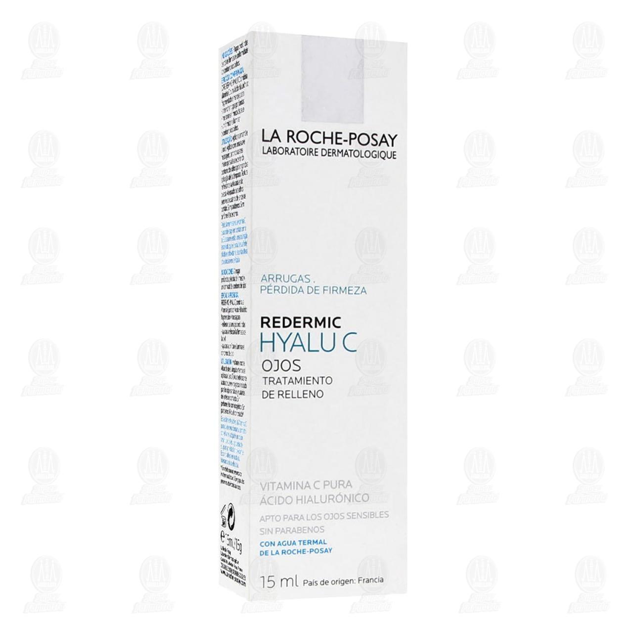 Comprar La Roche Posay Redermic Hyalu C Crema Anti Arrugas para el Contorno de Ojos, 15 ml. en Farmacias Guadalajara