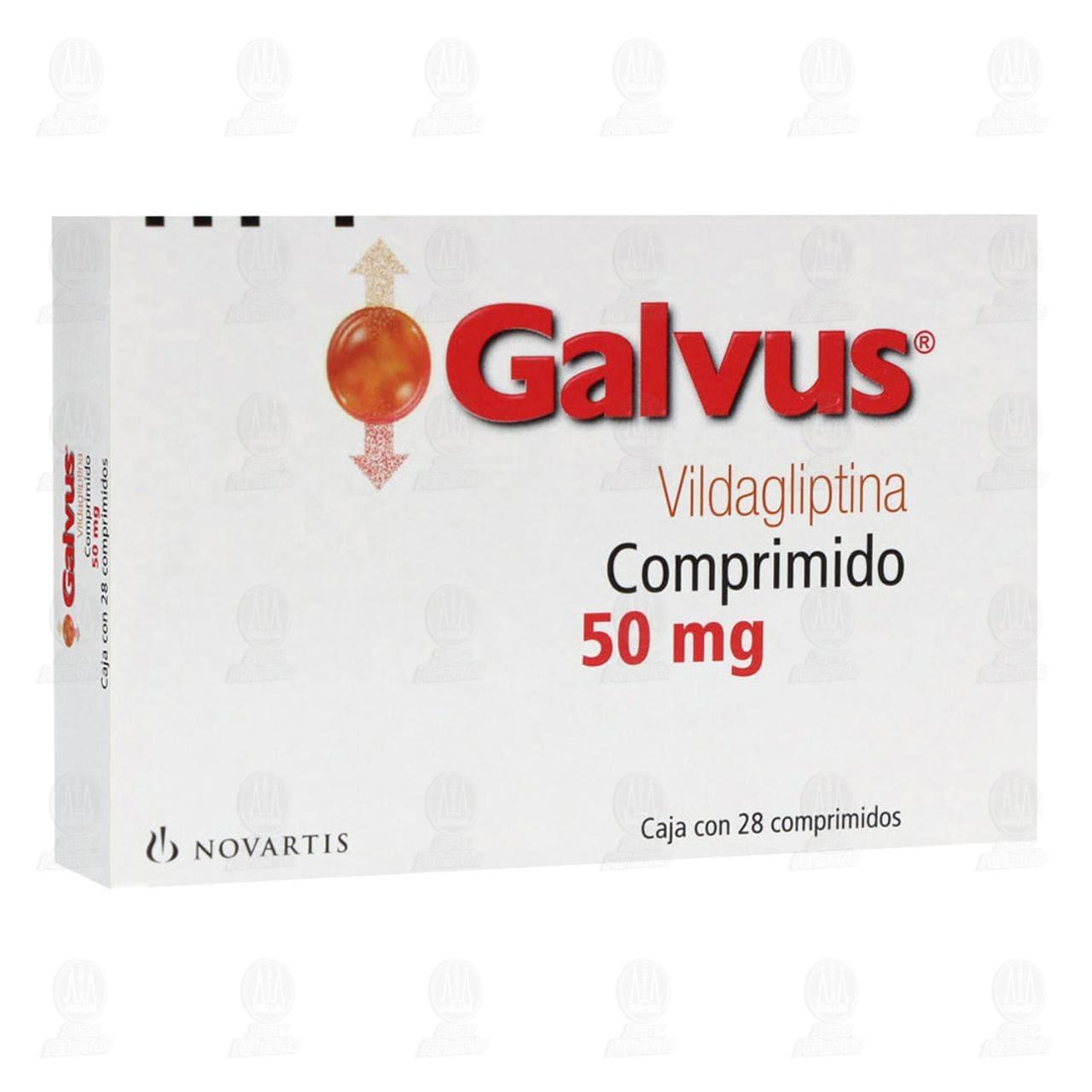 Comprar Galvus 50mg 28 Comprimidos en Farmacias Guadalajara