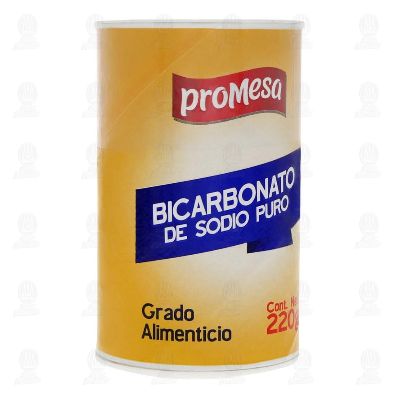 Comprar Bicarbonato de Sodio ProMesa, 220 gr. en Farmacias Guadalajara