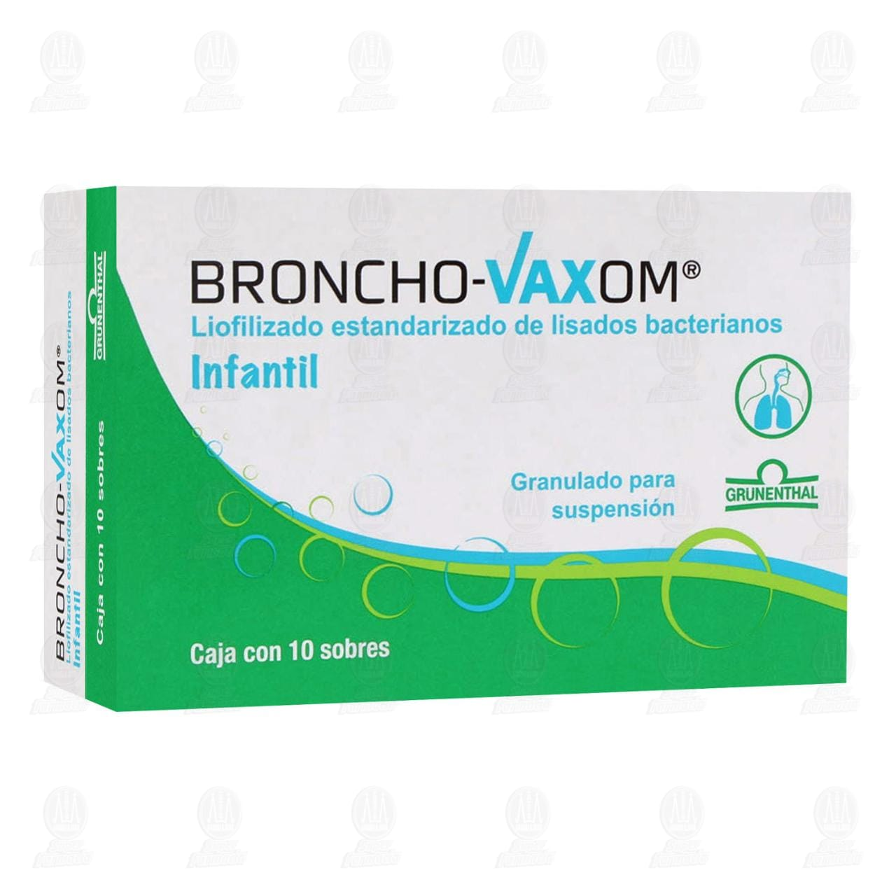 Comprar Broncho-Vaxom Infantil 10 Sobres en Farmacias Guadalajara