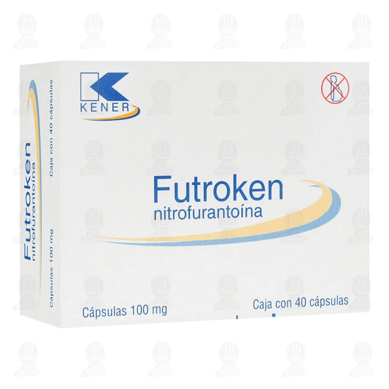Comprar Futroken 100mg 40 Cápsulas en Farmacias Guadalajara