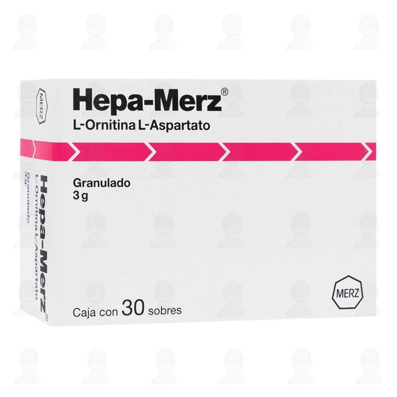 Comprar Hepa-Merz 3gr 30 Sobres Granulado en Farmacias Guadalajara