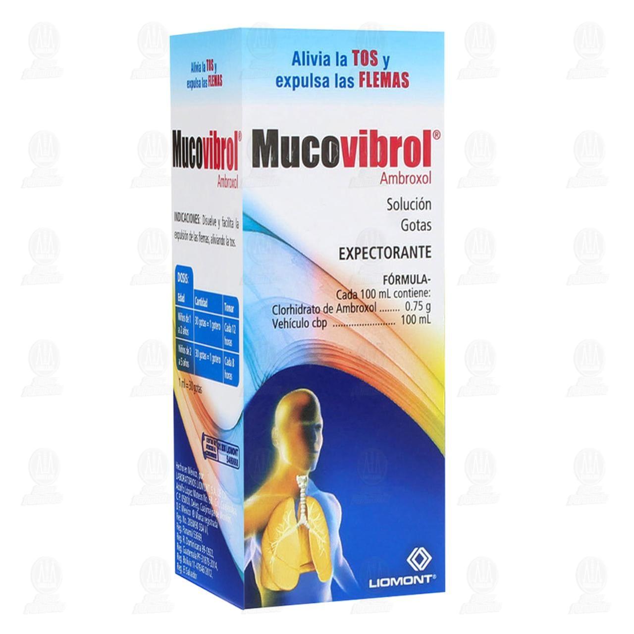 Comprar Mucovibrol Solución Gotas 30ml en Farmacias Guadalajara