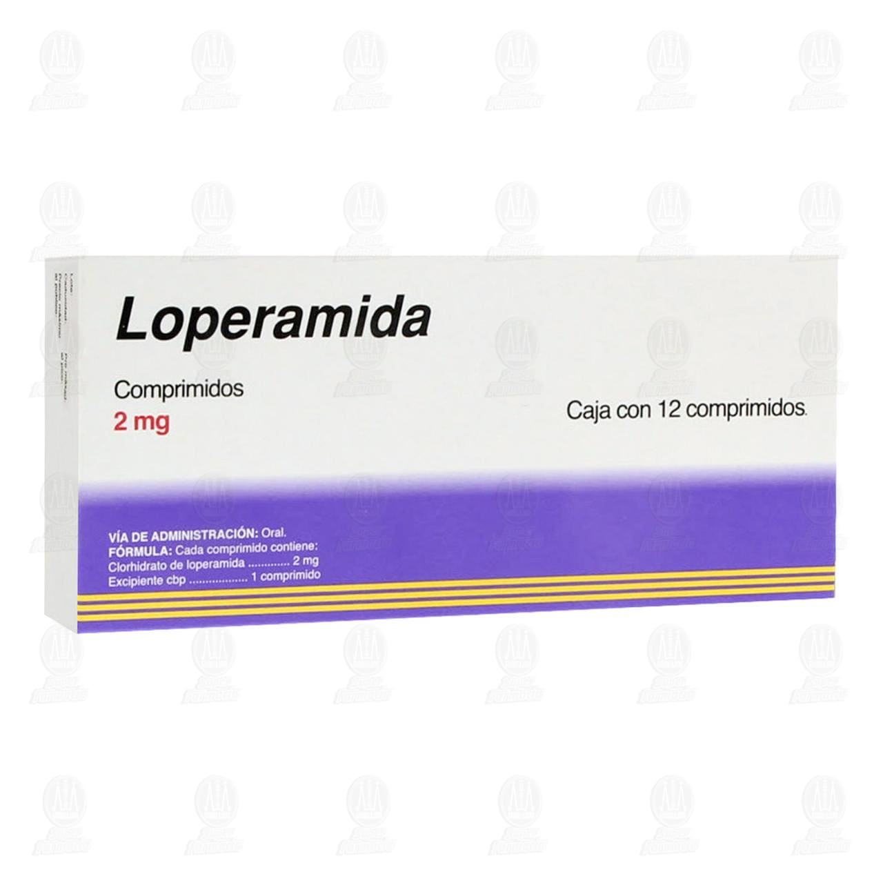 Loperamida 2mg 12 Comprimidos Pharmalife