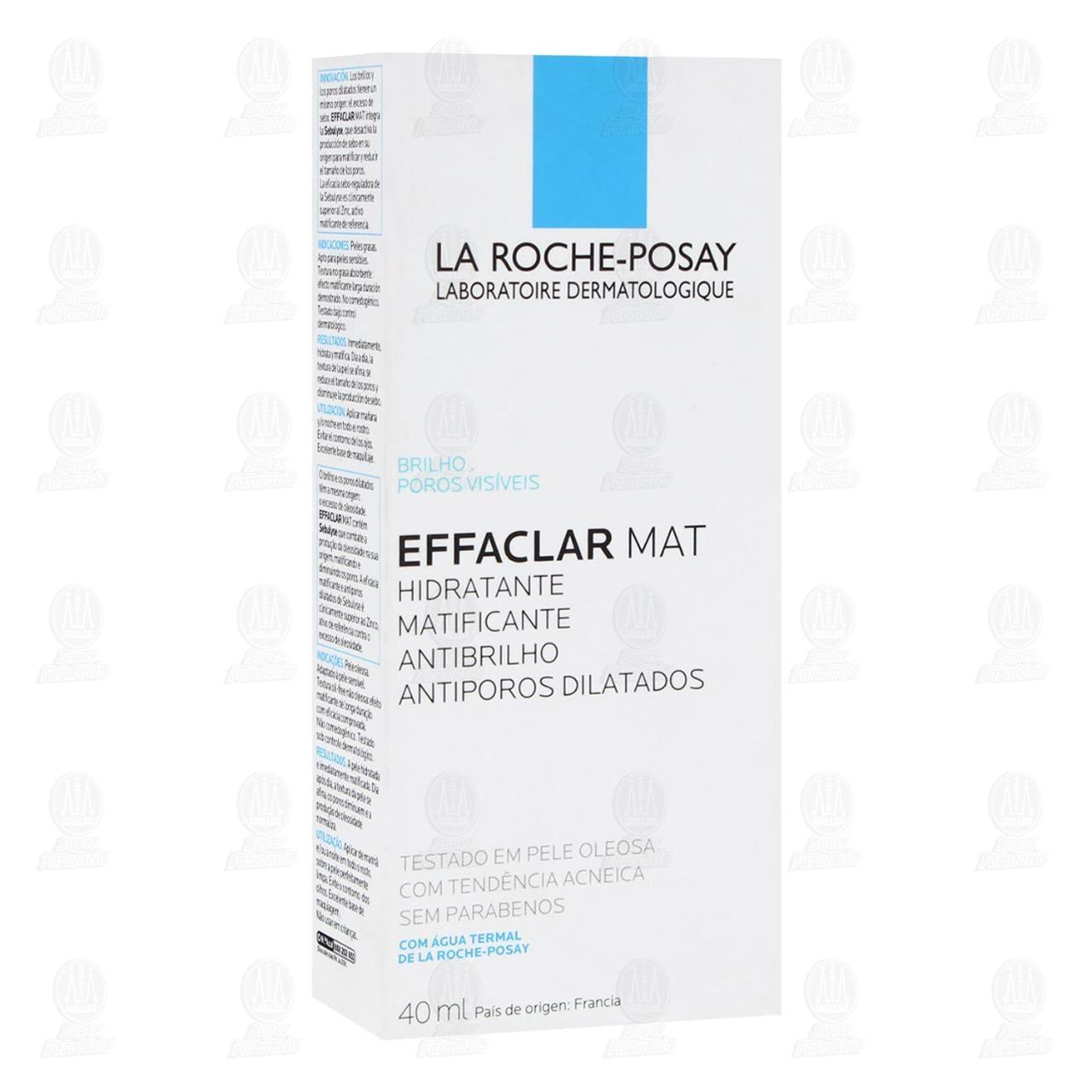 Comprar La Roche Posay Crema Matificante para Rostro Effaclar Mat, 40 ml. en Farmacias Guadalajara