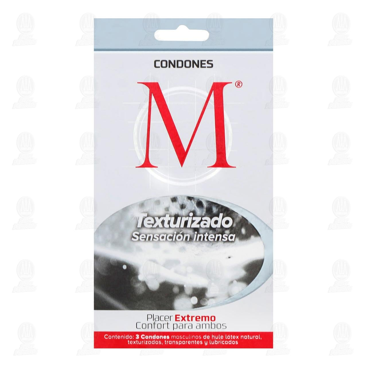 Comprar M Texturizado Preservativos 3pzas en Farmacias Guadalajara
