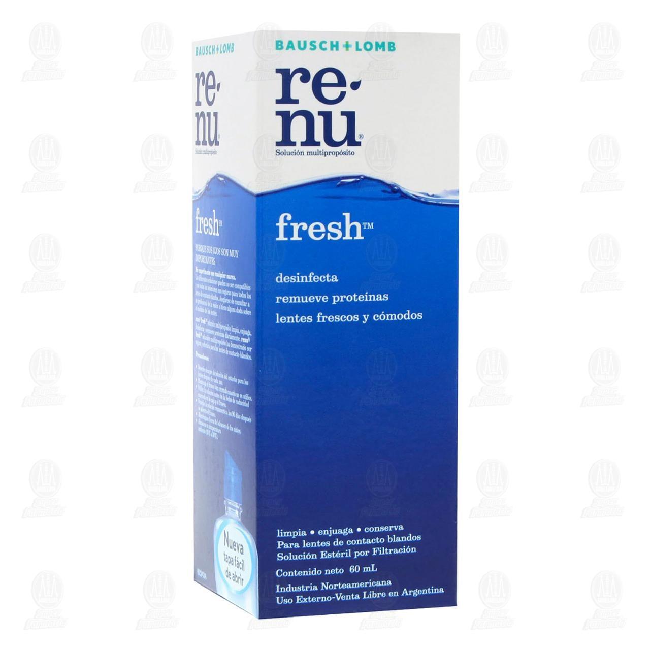 Comprar Renu Fresh 60ml Solución en Farmacias Guadalajara