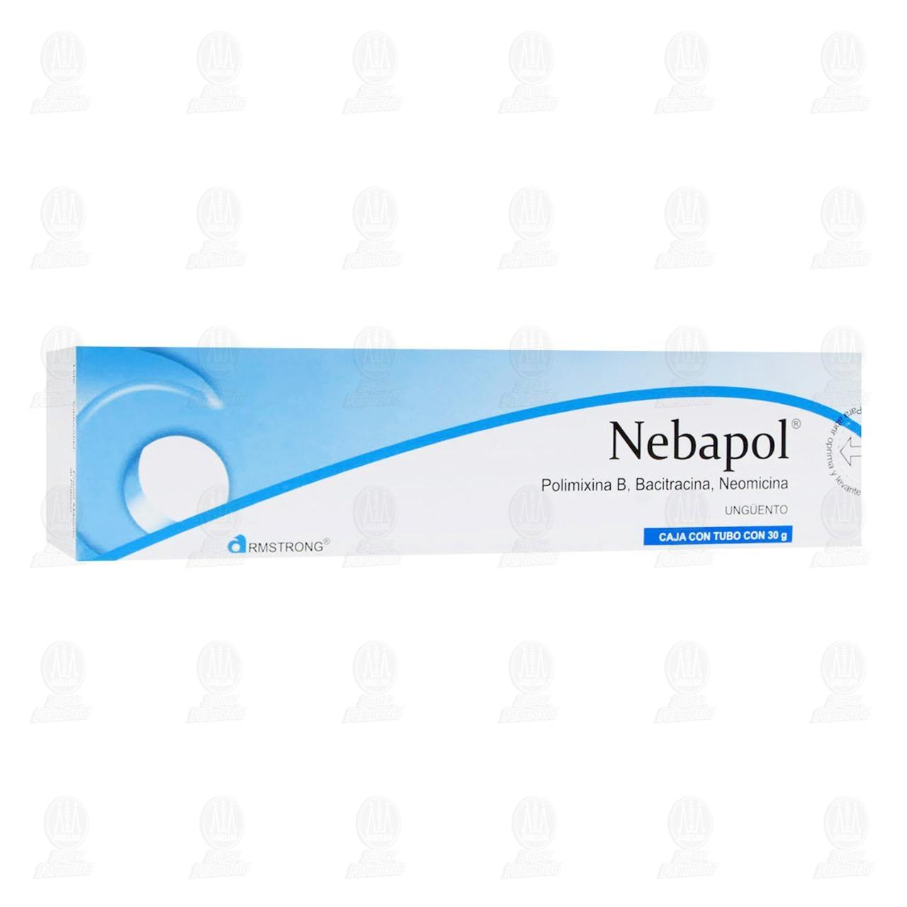 Comprar Nebapol Ungüento 30gr en Farmacias Guadalajara