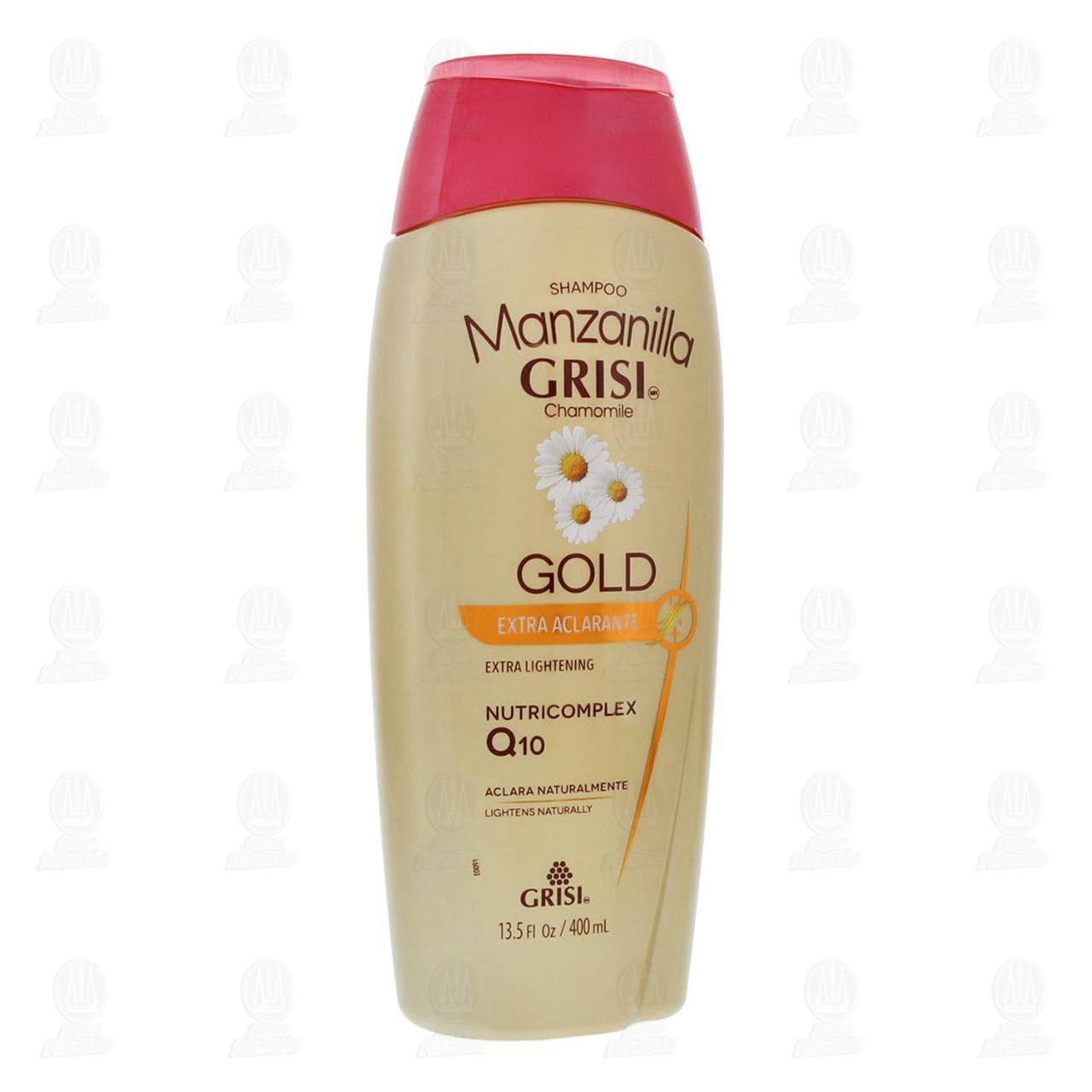 Comprar Shampoo Manzanilla Grisi Gold Extra Aclarante, 400 ml. en Farmacias Guadalajara