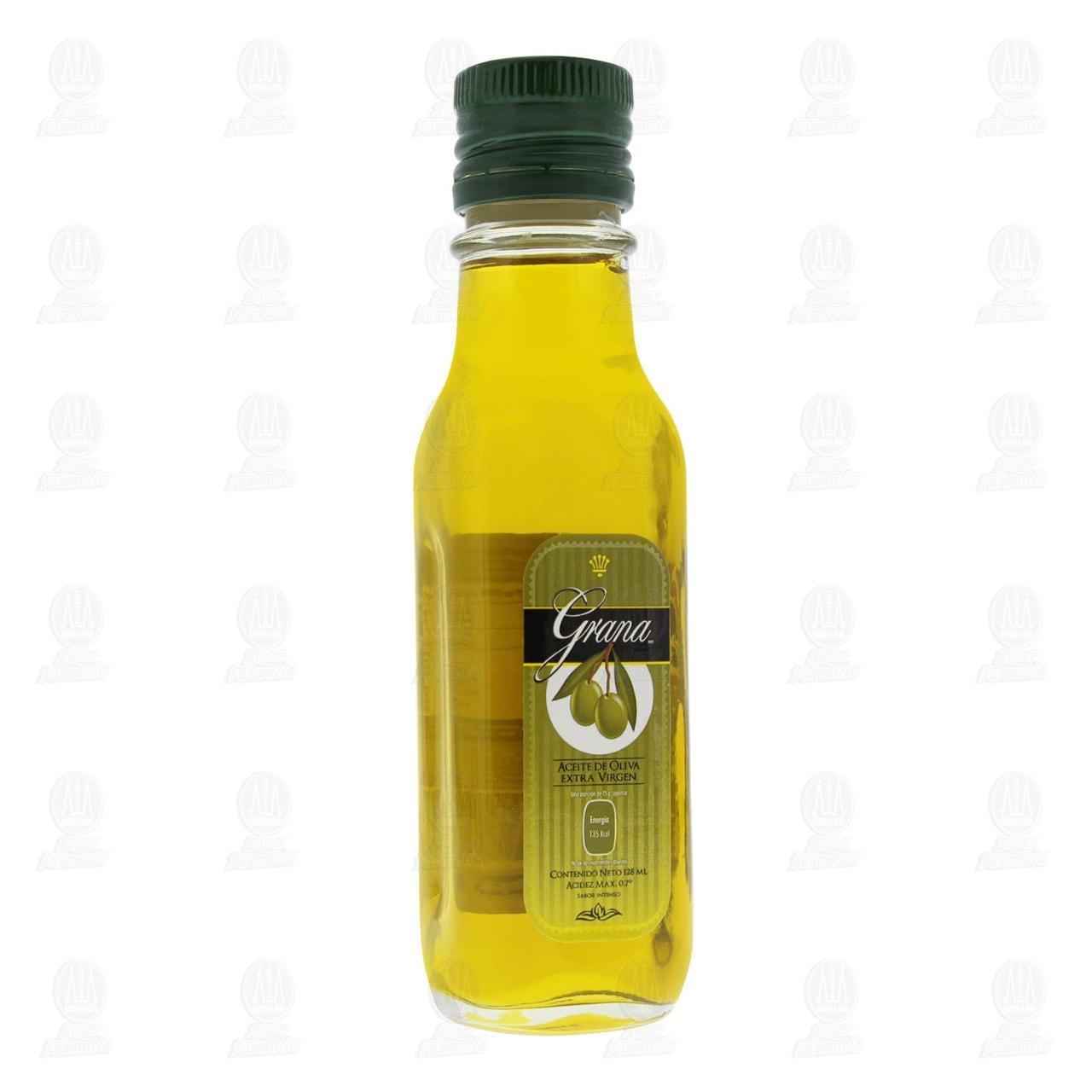 Aceite de Oliva Grana Extra Virgen Sabor Intenso, 128 ml.