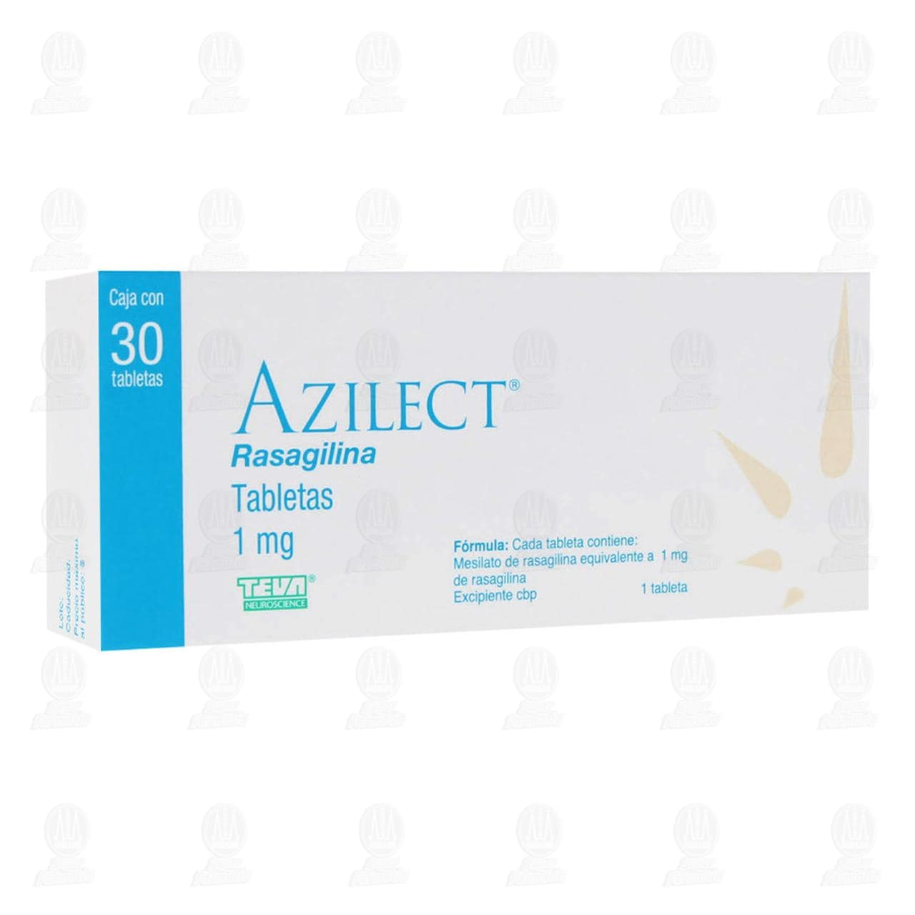 Azilect 1mg 30 Tabletas