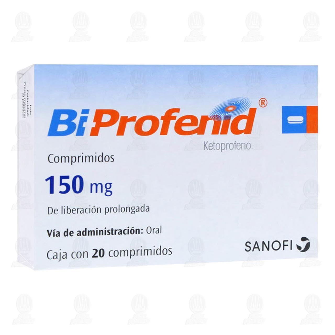 Comprar Bi Profenid 150mg 20 Comprimidos en Farmacias Guadalajara