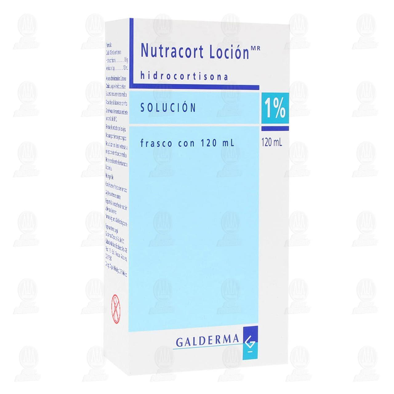 Comprar Nutracort Loción 1%, 120 ml. en Farmacias Guadalajara