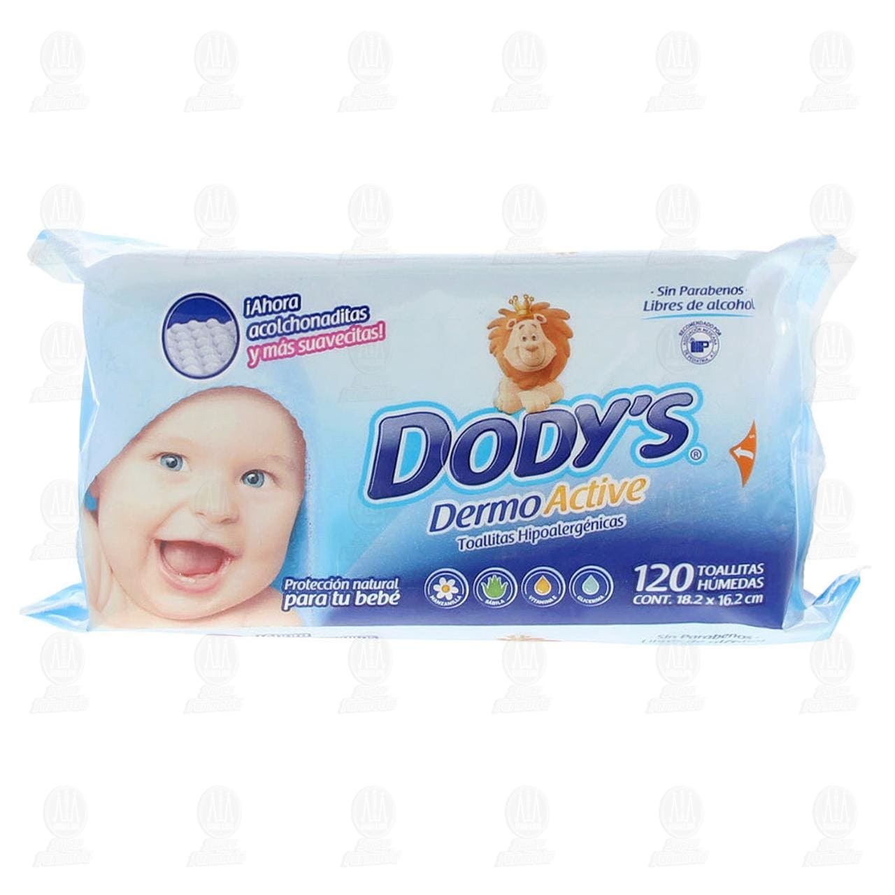 Comprar Toallitas para Bebé Dody's Dermo Active Hipoalergénicas, 120 pzas. en Farmacias Guadalajara
