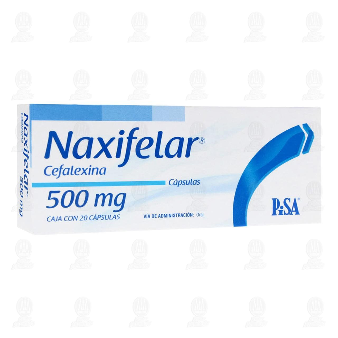 Comprar Naxifelar 500mg 20 Cápsulas en Farmacias Guadalajara