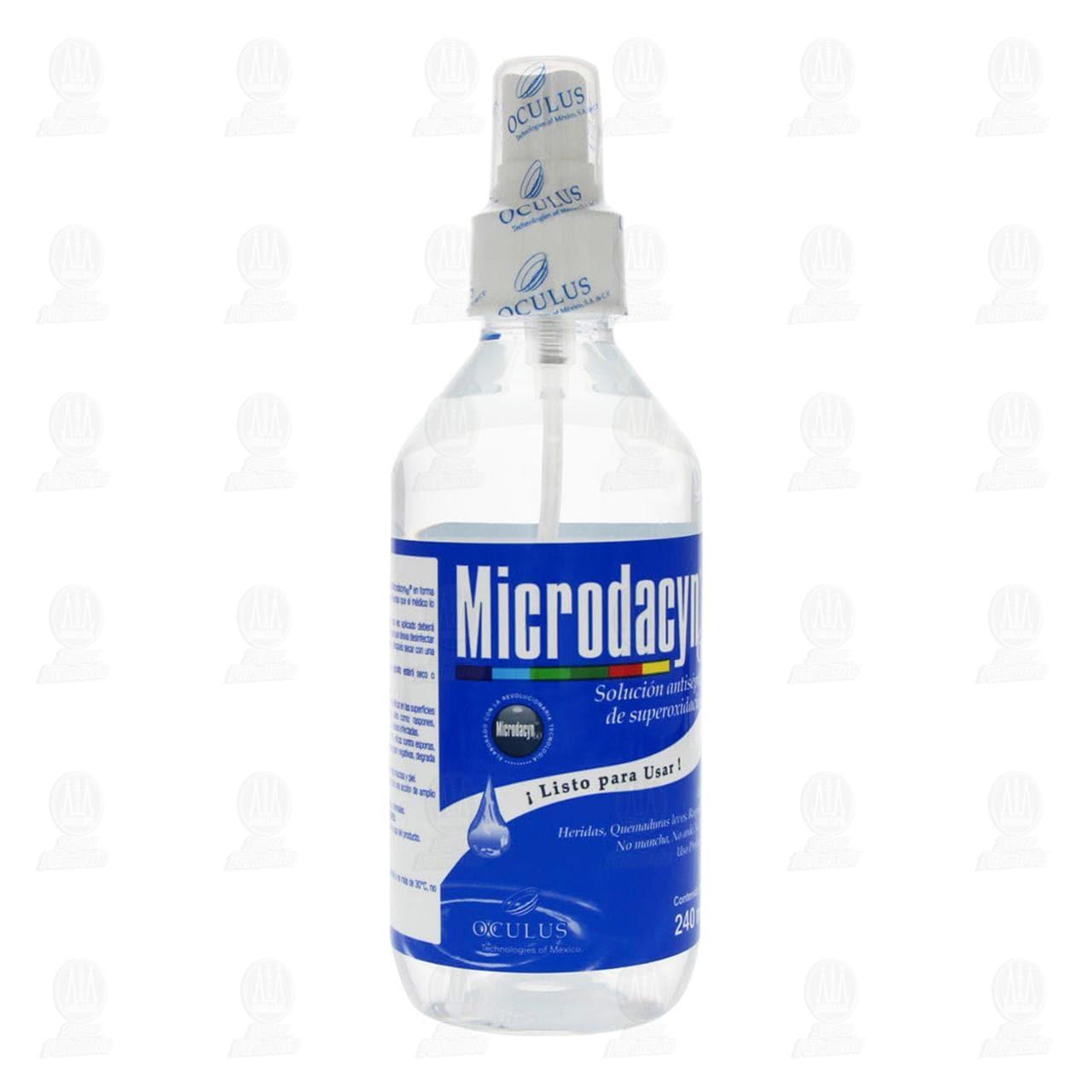 Comprar Microdacyn 60 Solución 240ml en Farmacias Guadalajara