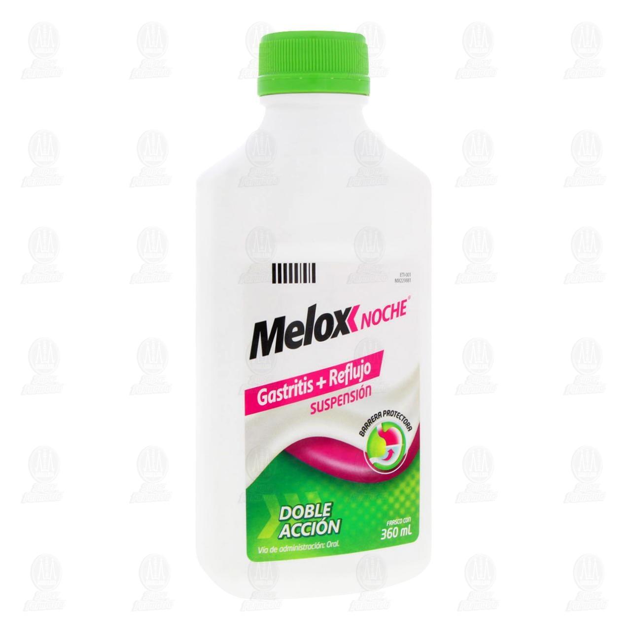 Comprar Melox Noche Suspensión 360ml en Farmacias Guadalajara