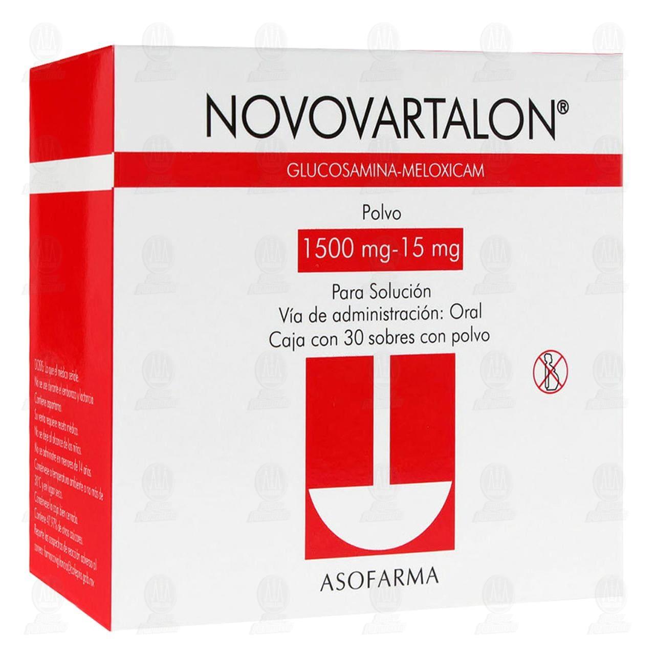 Novovartalon 30 Sobres Polvo