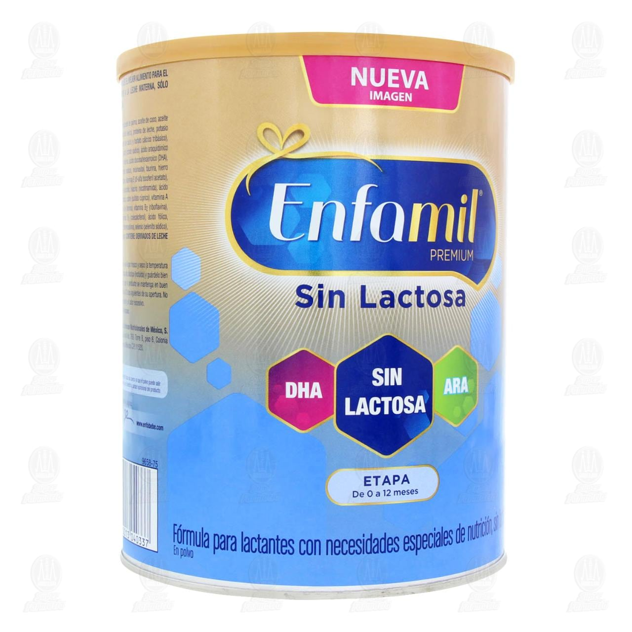 Comprar Fórmula Infantil Especializada Enfamil Premium Sin Lactosa, Edad 0-12 Meses, 900 gr. en Farmacias Guadalajara