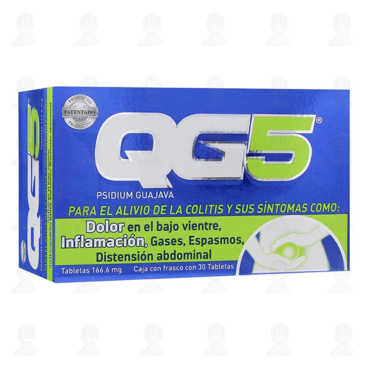 Comprar QG5 166.6mg 30 Tabletas en Farmacias Guadalajara