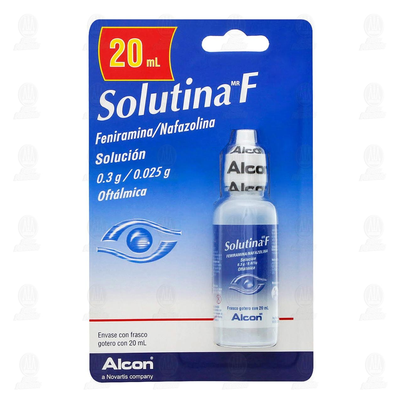 Comprar Solutina F 20ml Solución Gotas en Farmacias Guadalajara