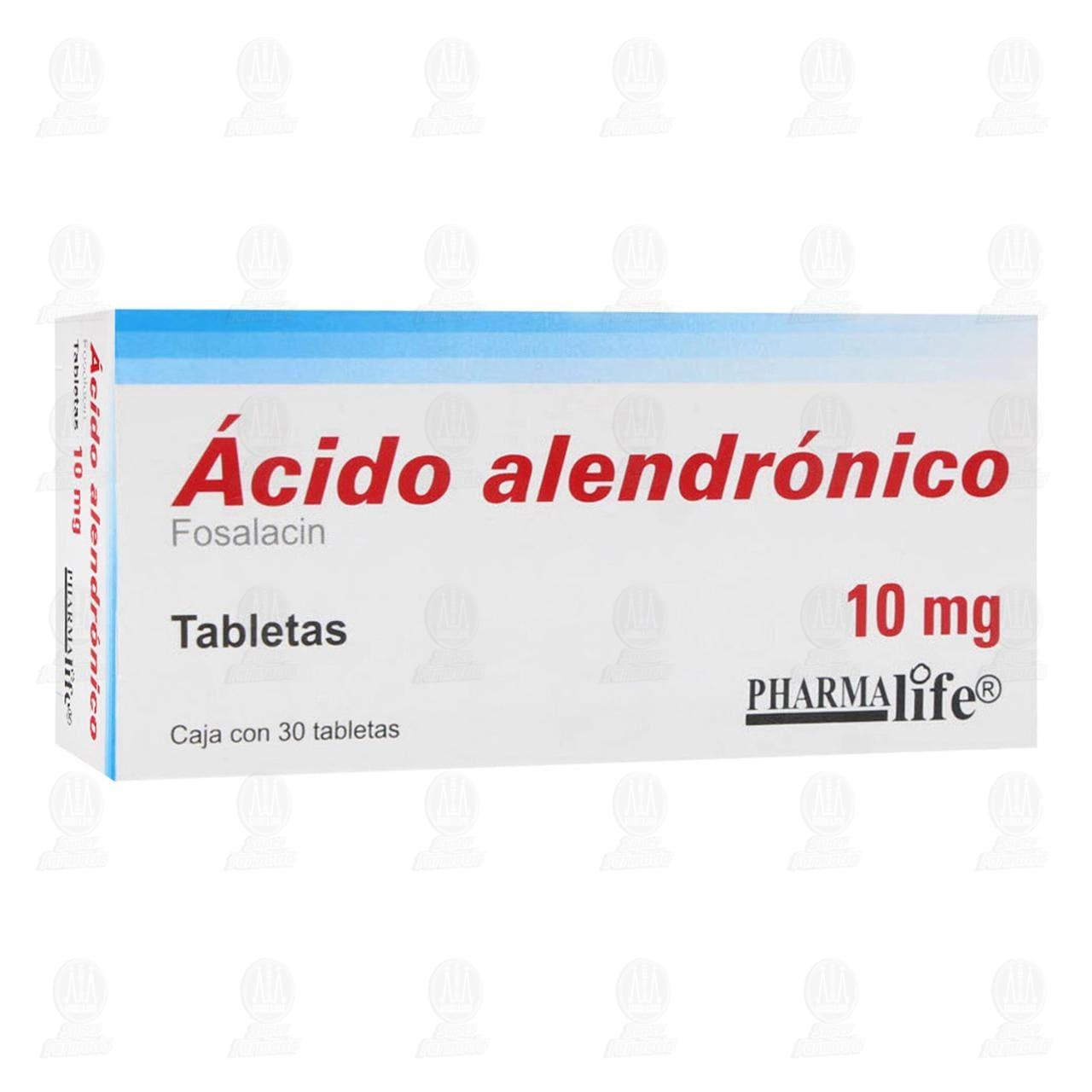 Ácido Alendrónico 10mg 30 Tabletas Pharmalife