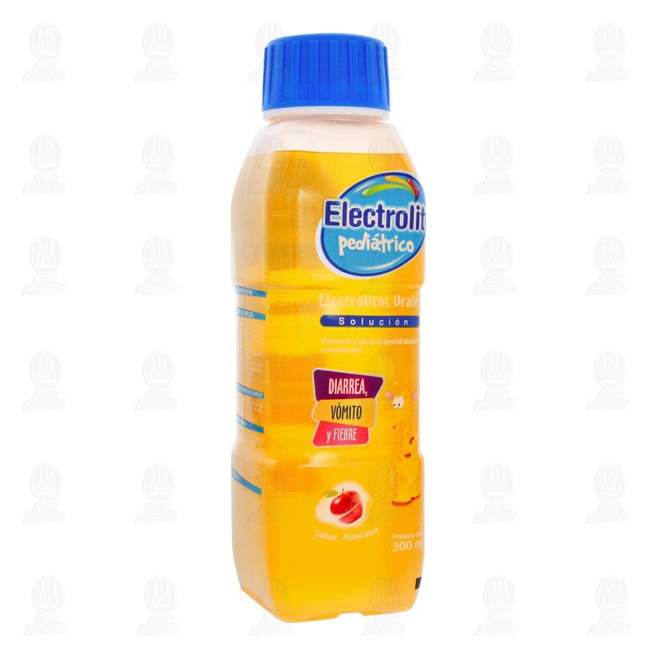 Comprar Electrolit Pediátrico Manzana Oral 300ml en Farmacias Guadalajara