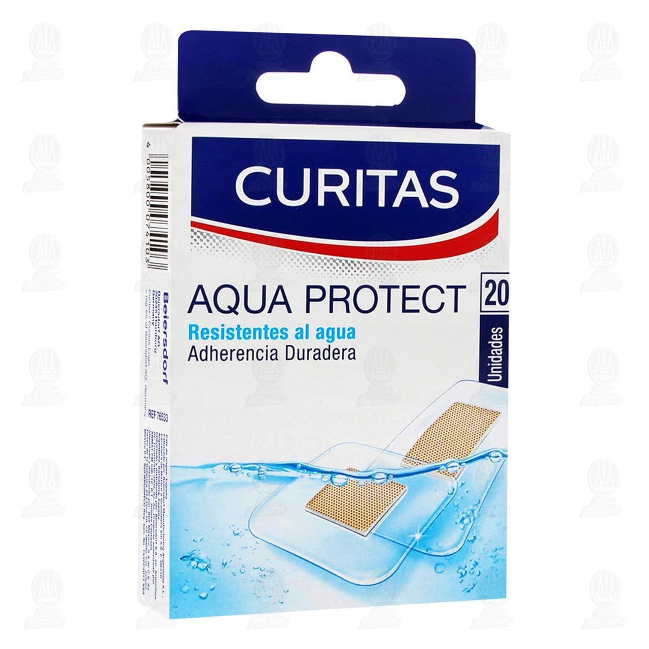 Comprar Curitas Venditas Aqua Protect 20pzas en Farmacias Guadalajara