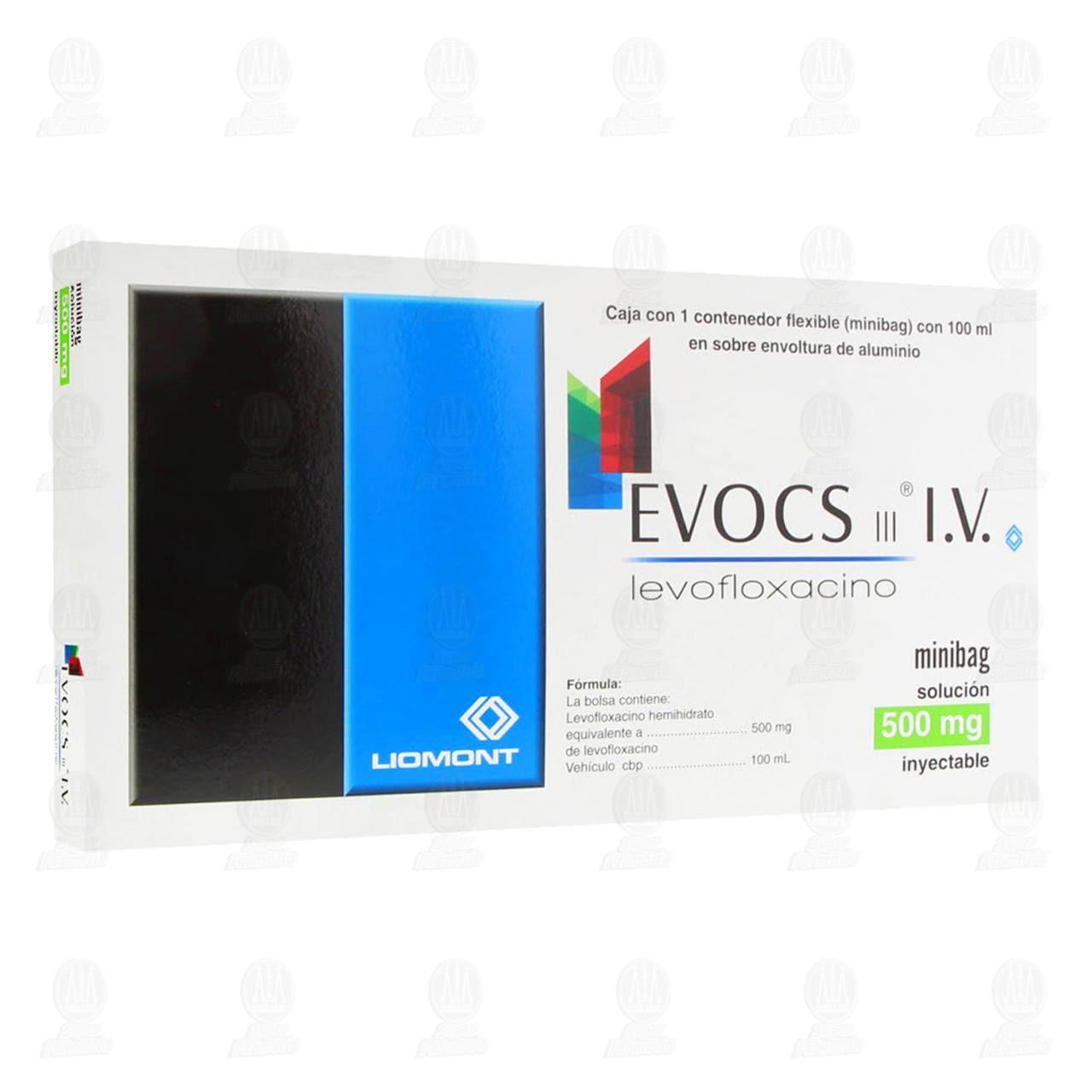 Comprar Evocs III 500mg Minibag Inyectable 100ml en Farmacias Guadalajara