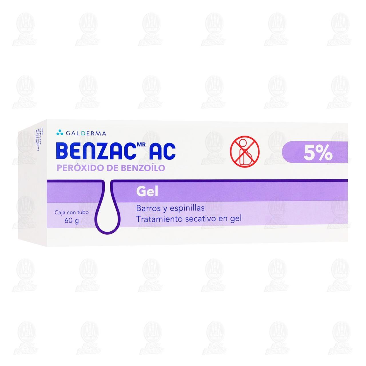 Comprar Benzac AC Gel 5%, 60 gr. en Farmacias Guadalajara