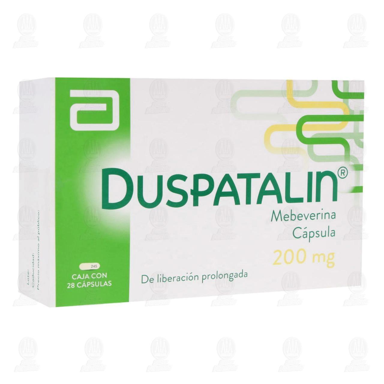 Comprar Duspatalin 200mg 28 Cápsulas en Farmacias Guadalajara