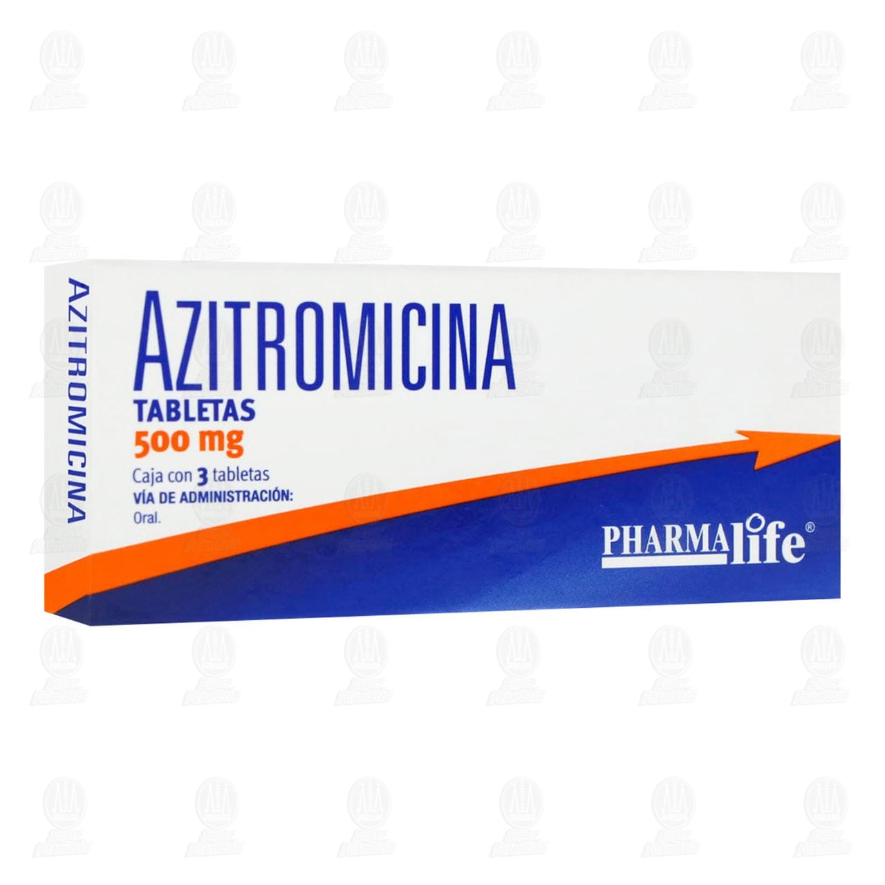 Comprar Azitromicina 500mg 3 Tabletas Pharmalife en Farmacias Guadalajara
