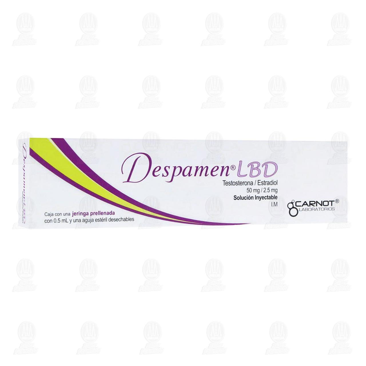 Comprar Despamen LBD 50mg/2.5mg Solución Inyectable 1 Jeringa Prellenada con 0.5ml y 1 Aguja Estéril Desechable en Farmacias Guadalajara