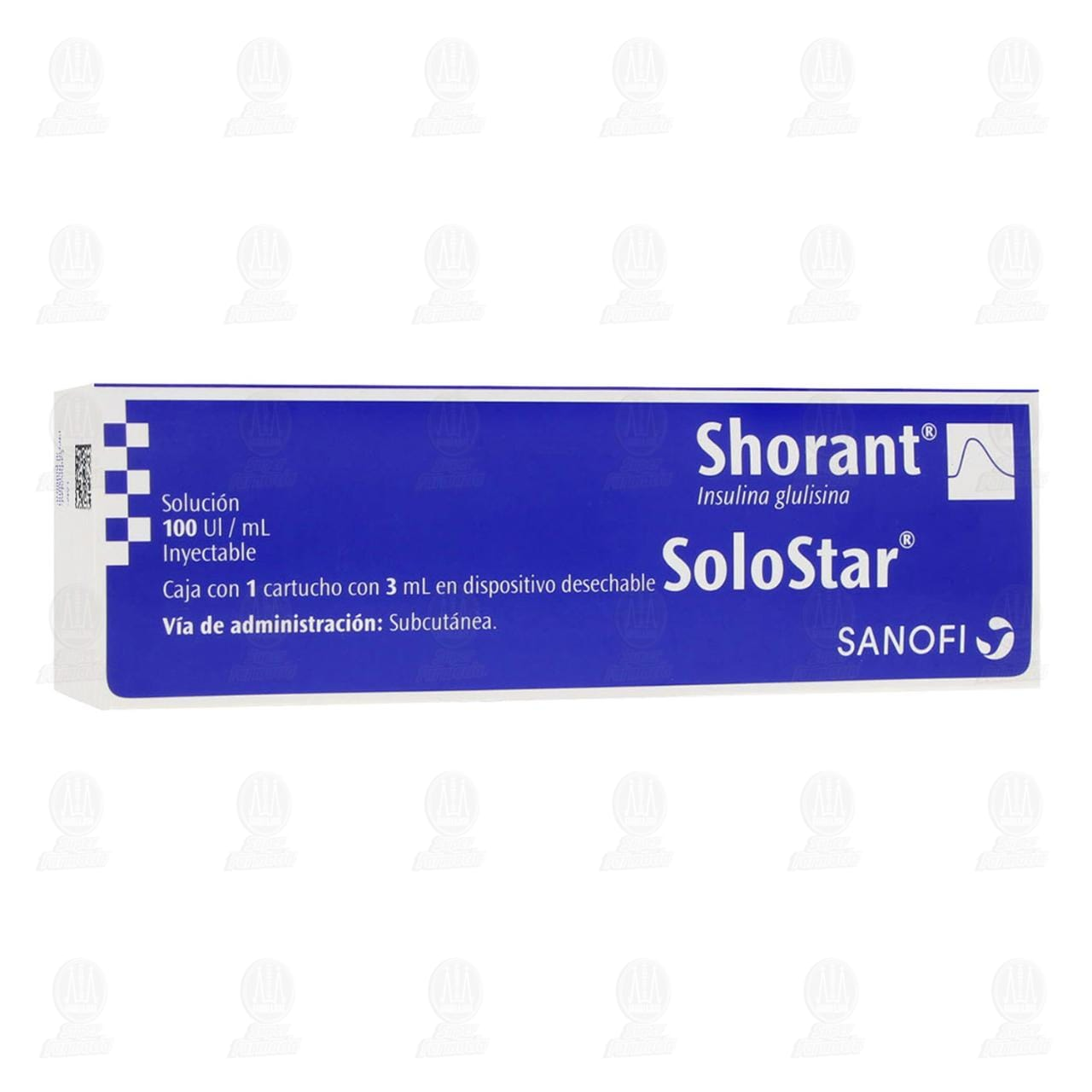 Comprar Shorant Solostar 100UI/ml Solostar 1 Cartucho 3ml en Farmacias Guadalajara