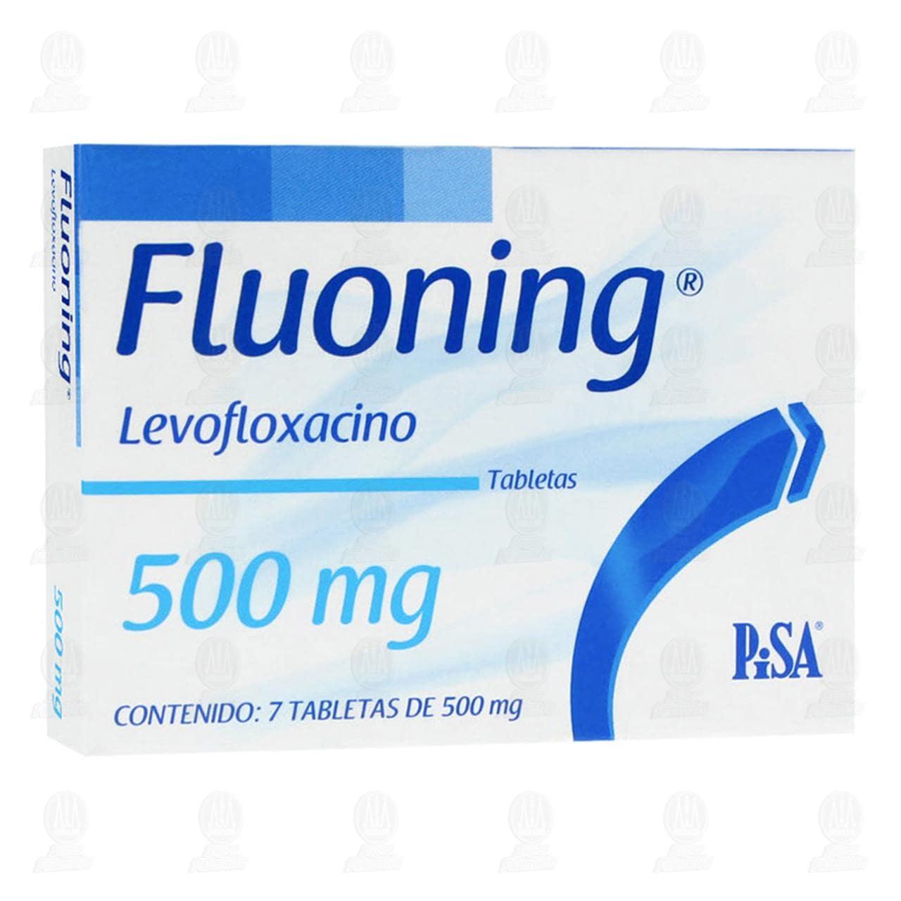 Comprar Fluoning 500mg 7 Tabletas en Farmacias Guadalajara
