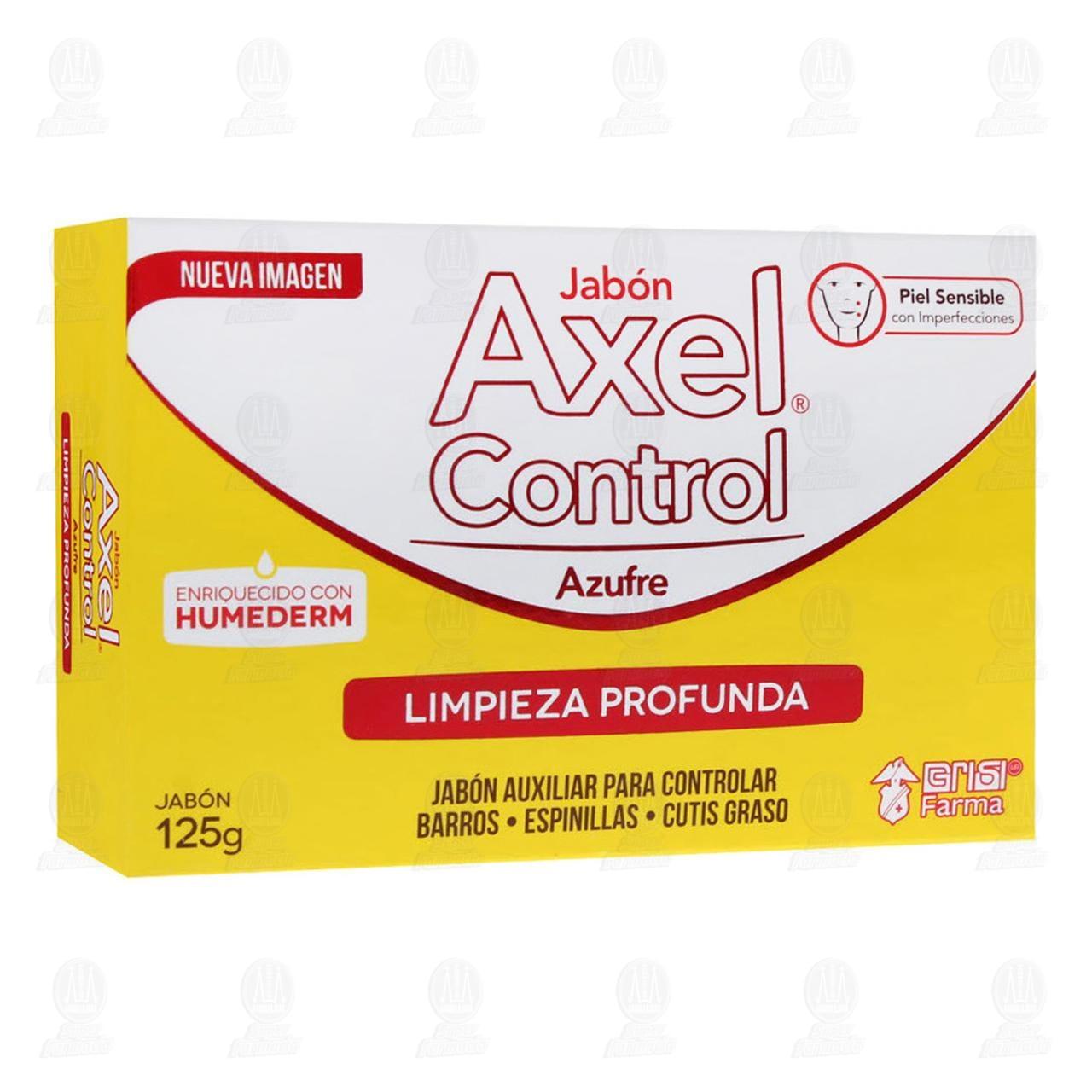 Comprar Axel Control Azufre 125gr Jabón en Farmacias Guadalajara