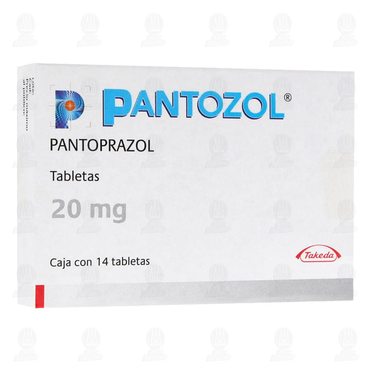 Comprar Pantozol 20mg 14 Tabletas en Farmacias Guadalajara