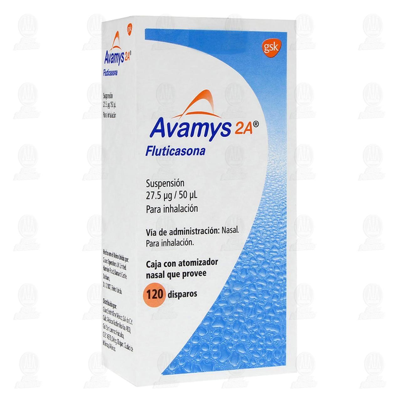 Avamys 2A 27.5/50mcg Suspensión 120 Disparos