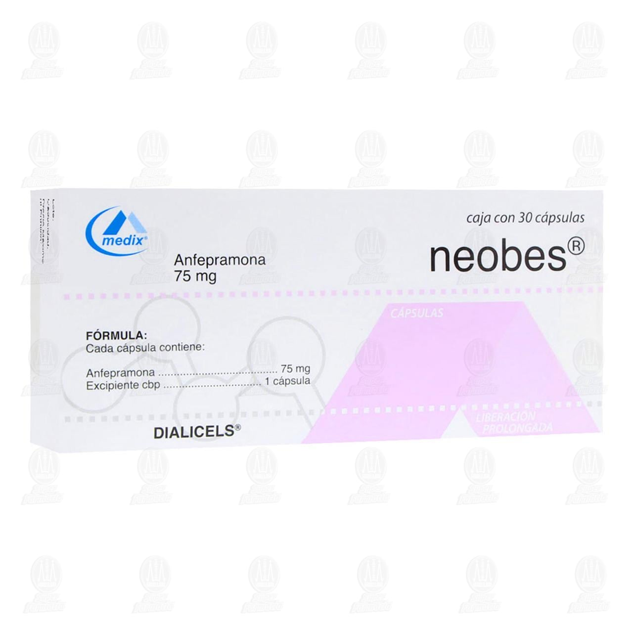 Neobes 75mg 30 Cápsulas