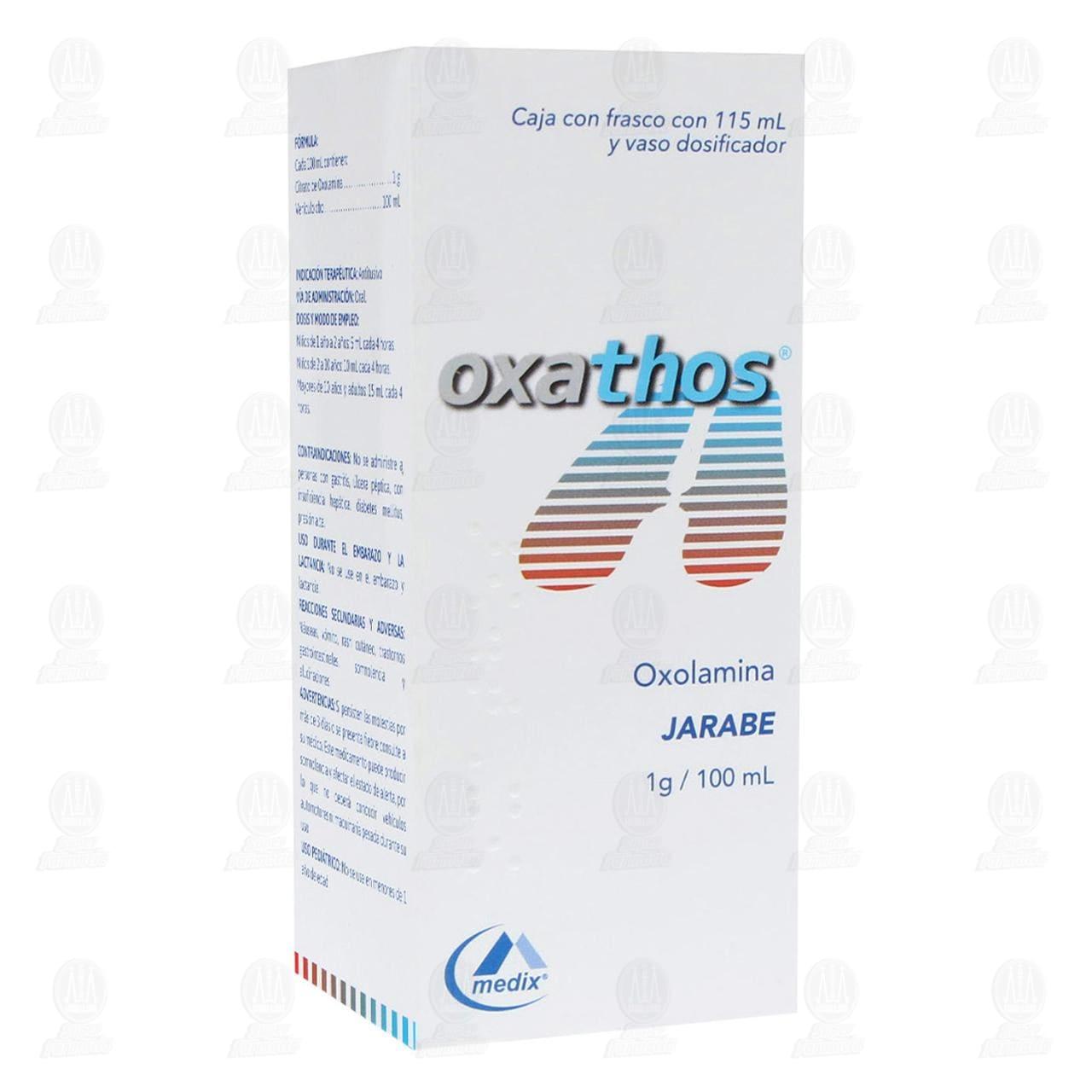 Comprar Oxathos Jarabe 1gr/100ml 115ml en Farmacias Guadalajara