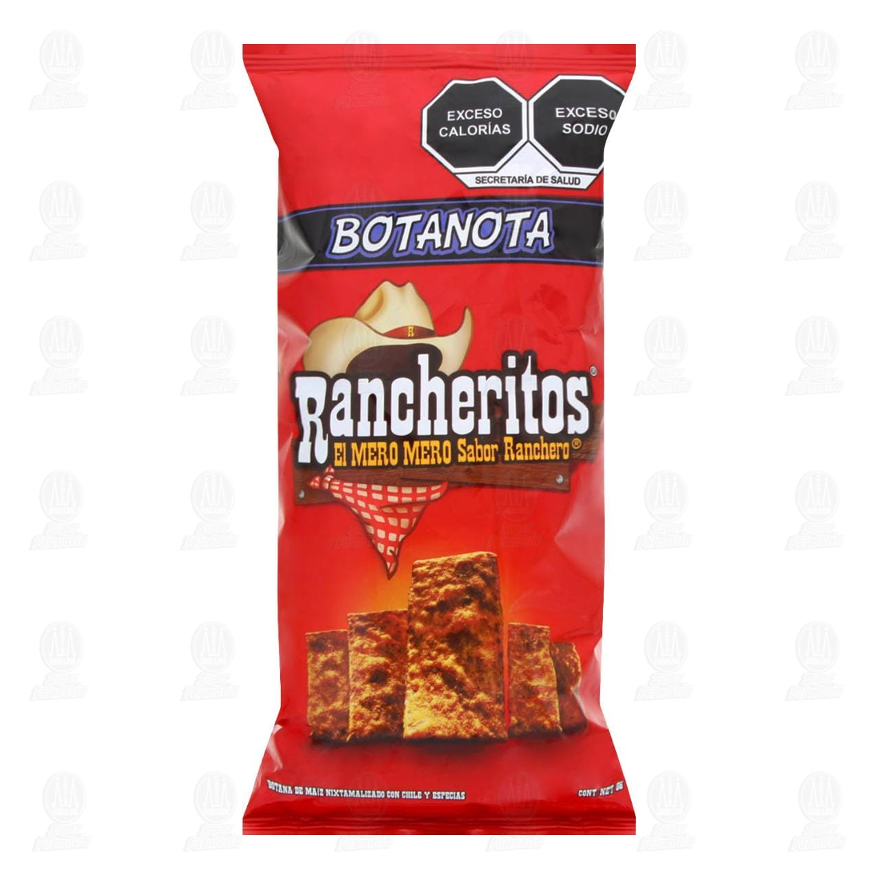 Botana Rancheritos Sabor Chile y Especias, 91 gr.