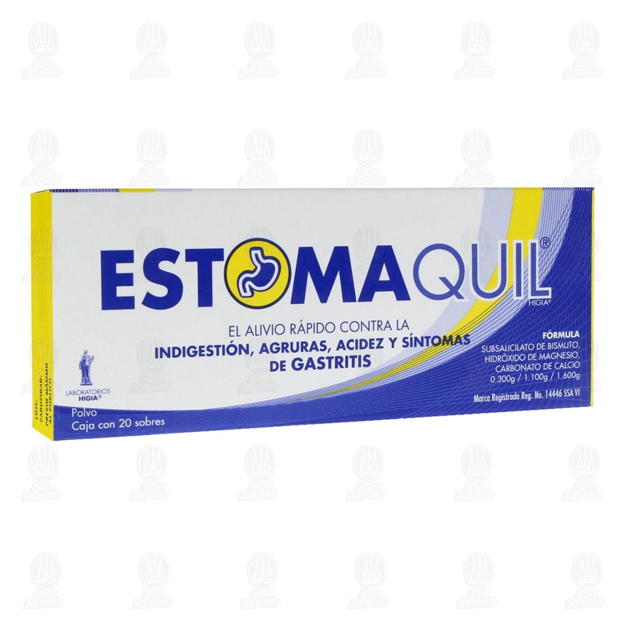 Comprar Estomaquil 3gr con 20 Sobres Polvo en Farmacias Guadalajara